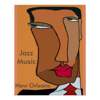 Jazz Music New Orleans 2017, change text Poster