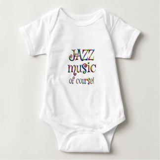 Jazz Music of Course Baby Bodysuit