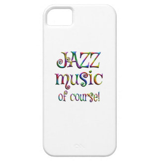 Jazz Music of Course iPhone 5 Cases