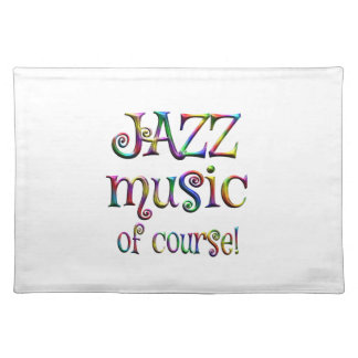 Jazz Music of Course Placemat