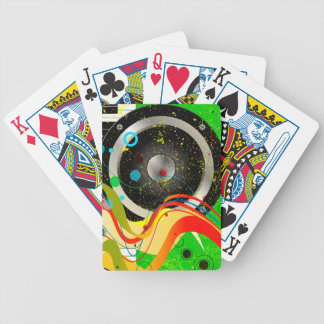 Jazz Musical Background Bicycle Playing Cards