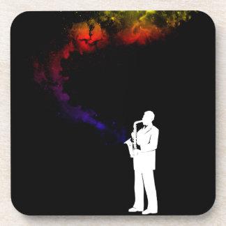 Jazz Musician Coaster