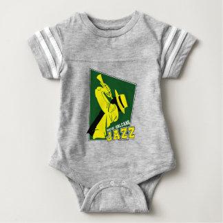 jazz new Orleans Baby Bodysuit