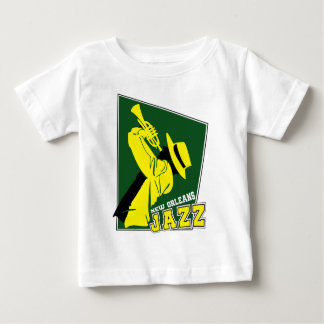 jazz new Orleans Baby T-Shirt