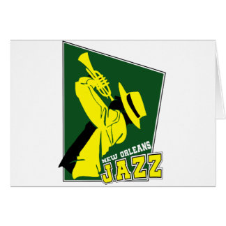 jazz new Orleans Card