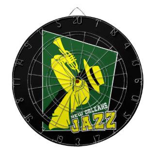 jazz new Orleans Dart Board