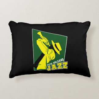 jazz new Orleans Decorative Pillow