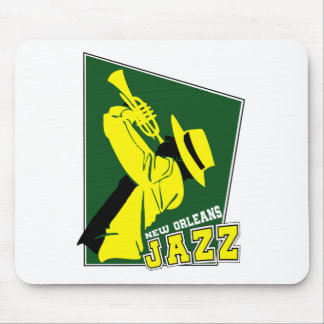 jazz new Orleans Mouse Pad