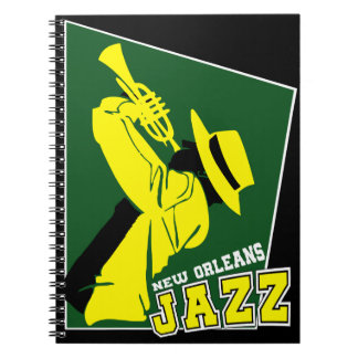 jazz new Orleans Notebook