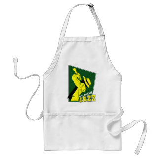 jazz new Orleans Standard Apron