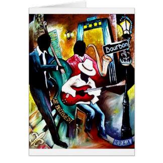 Jazz on Bourbon St..jpg Card