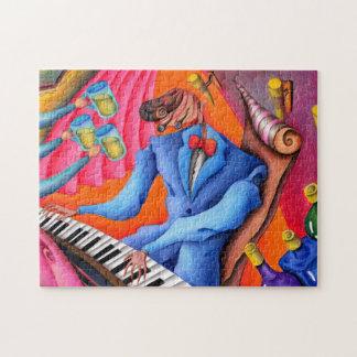 Jazz pianist jigsaw puzzle