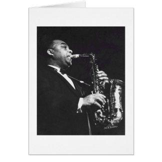 Jazz Player Card