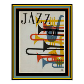Jazz Poster 16 x 20
