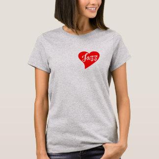 Jazz Red Heart, Cloud T-Shirt