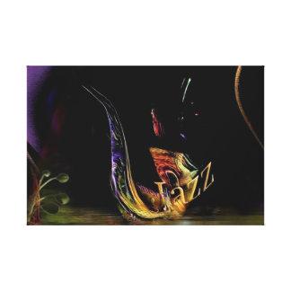 jazz / sax canvas print