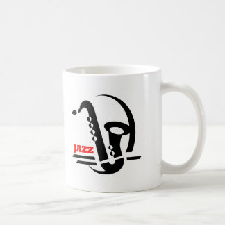 Jazz Sax Coffee Mug