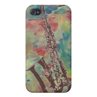 jazz saxophone iPhone 4 case