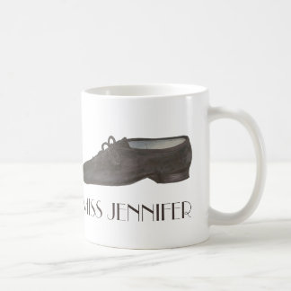 Jazz Shoe Dance Teacher Personalized Choreographer Coffee Mug