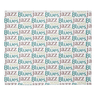 Jazz,soul,blues Duvet Cover