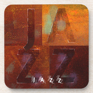 "Jazz (""Squares"" Design) Coaster"