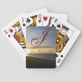 """Jazz Travel"" Deck of Playing Cards"