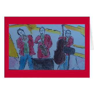 jazz trio card