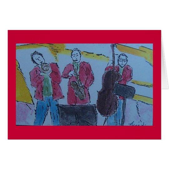 jazz trio card
