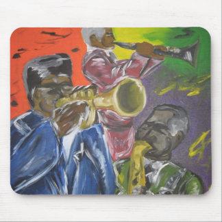 Jazz Trio Mouse Pad
