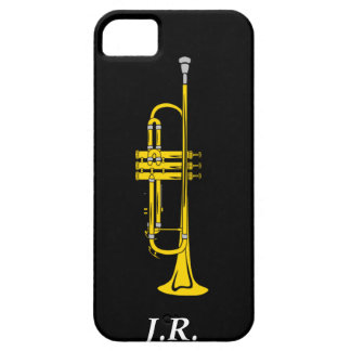 Jazz Trumpet add your Initials case-mate  Iphone4