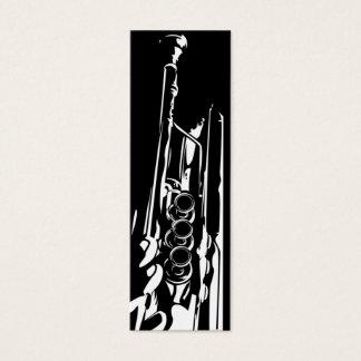 Jazz Trumpet Bookmark Mini Business Card
