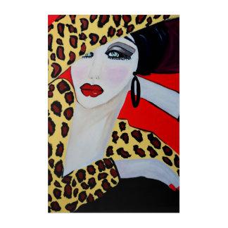 JAZZA BELL ACRYLIC WALL ART