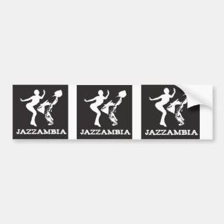 JAZZAMBIA Bumper Sticker