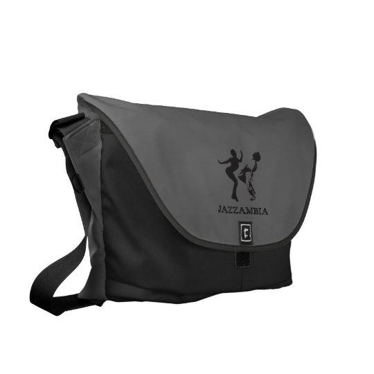 Jazzambia Large Messenger Bag