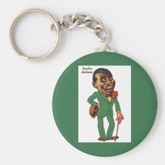 Jazzbo Jackson Keychain