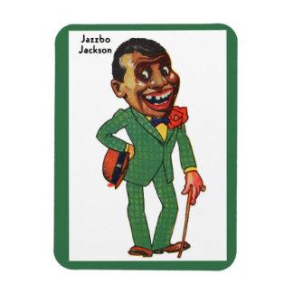 Jazzbo Jackson Rectangular Photo Magnet
