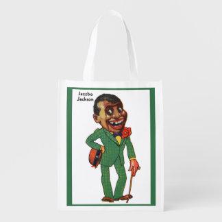 Jazzbo Jackson Reusable Grocery Bag