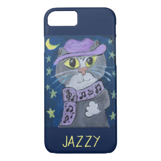 Jazzy Cat Painting iPhone 8/7 Case