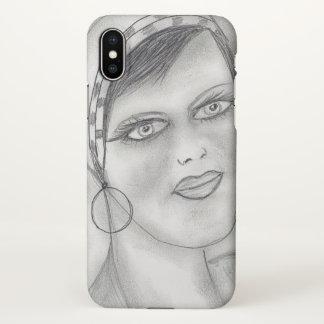Jazzy Flapper iPhone X Case
