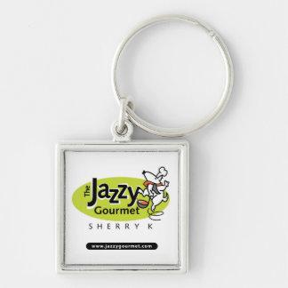Jazzy Gourmet Keychain