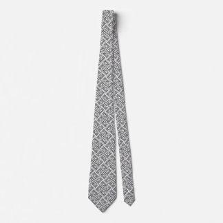 Jazzy Instruments Black and White Neck Tie