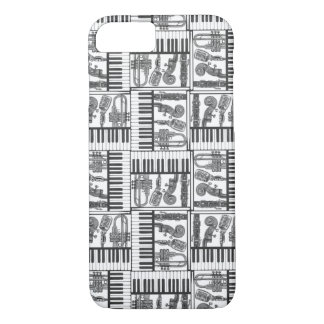 Jazzy Instruments iPhone 7 Case