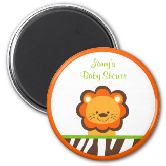 Jazzy Jungle Animal Party Favor Magnets