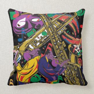 JAZZy Throw Pillow