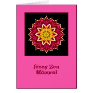 Jazzy Zen Momma Mandala Birthday Card