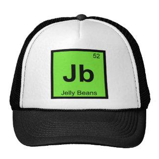 Jb - Jelly Beans Chemistry Periodic Table Symbol Trucker Hat