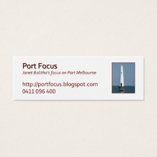 jbProfileBeaconSpirit Mini Business Card