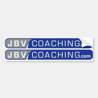 jbv coaching top tube logos blue bumper sticker