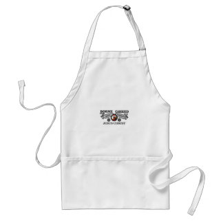 JC borne to carry griefs and sorrows Standard Apron