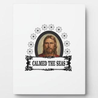 jc calmed the seas plaque